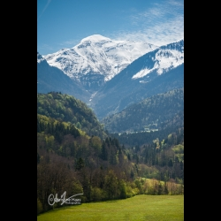 The Cheran valley in the Bauges in Savoie, by Christine Haas